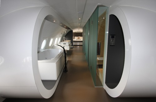 Airplane suite